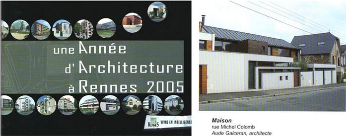 Une année d'architecture à Rennes 2005