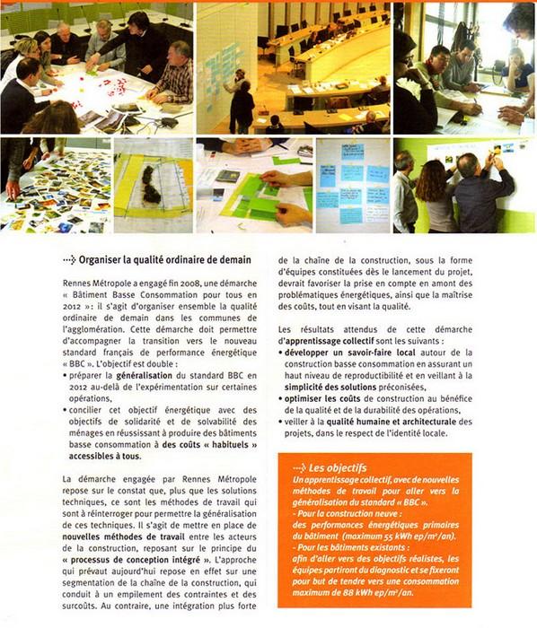 Bâtiment Basse Consommation pour tous en 2012