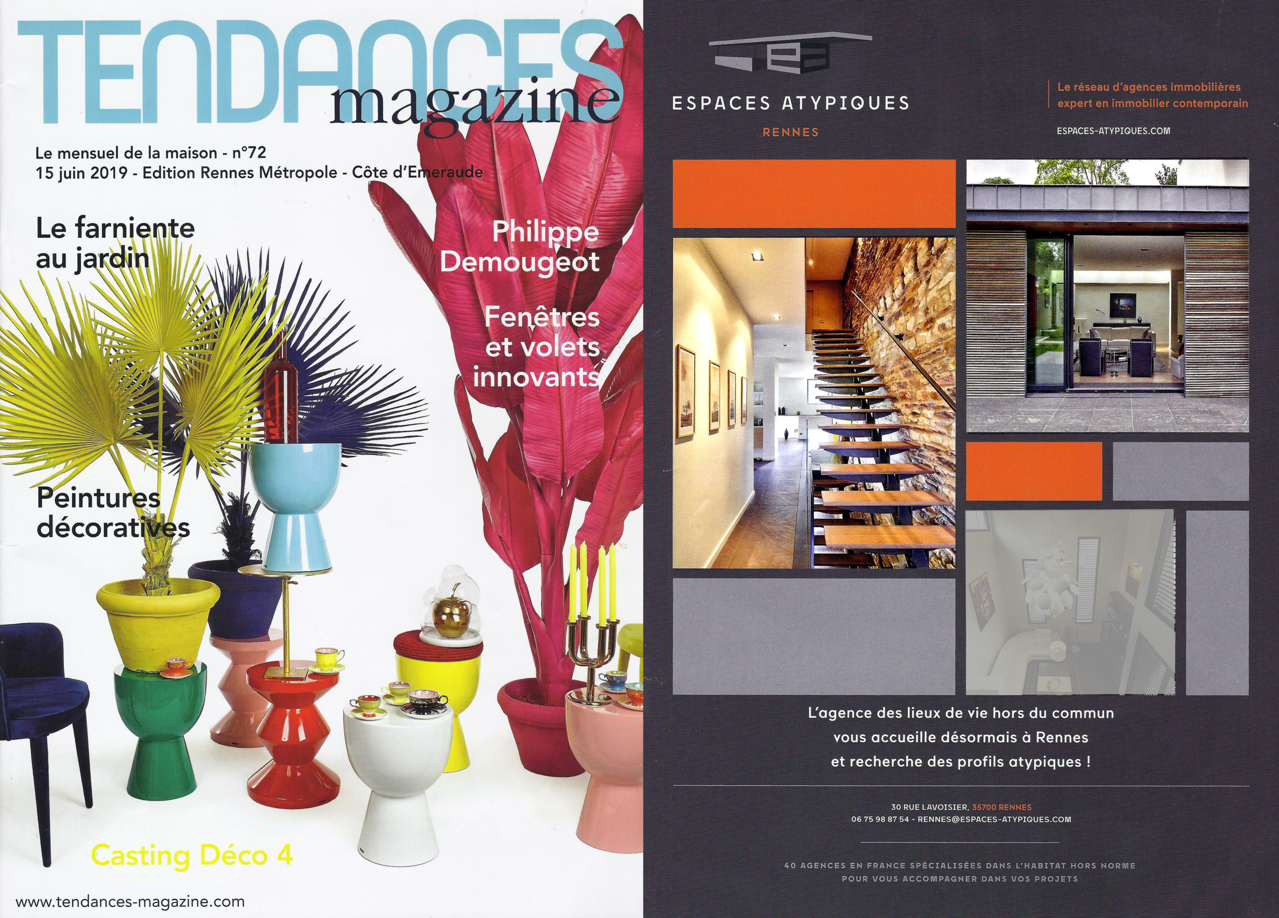 Tendance Magazine - Maison Dulion